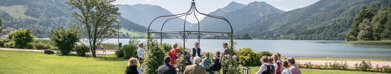 Heiraten am Schliersee